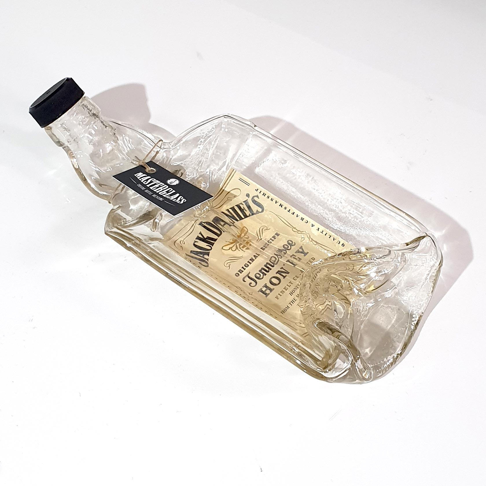 Tot borrelplank gesmolten fles Jack-Daniel's-Honey