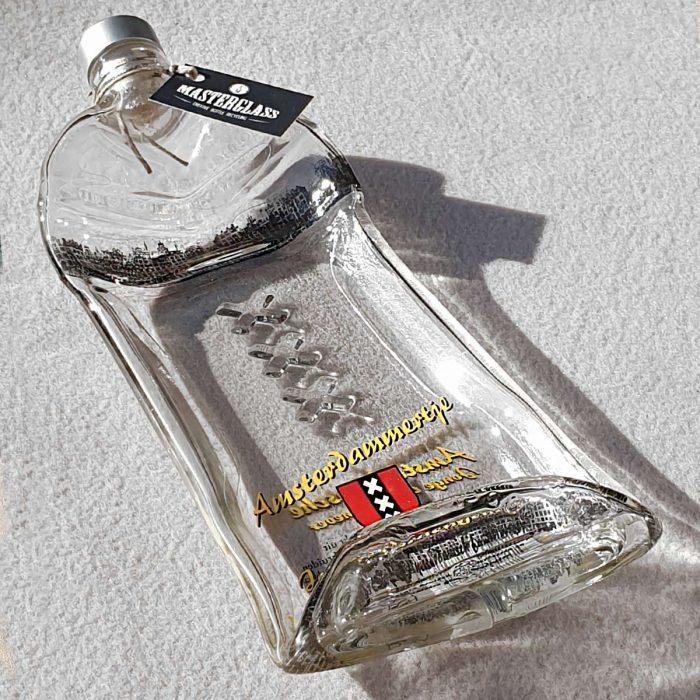 Tot borrelplank gesmolten fles Amsterdammertje