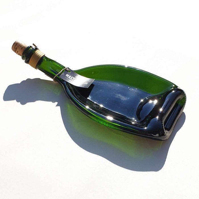 Tot borrelplank gesmolten fles Bold