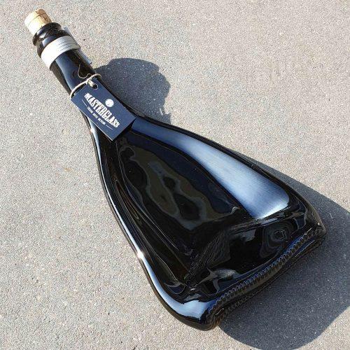 Tot borrelplank gesmolten fles Delta-Lux