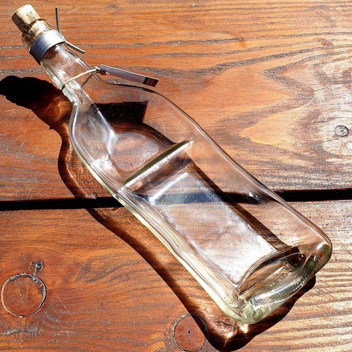 Tot borrelplank gesmolten fles Duo-Parallel-Dip-Nocolor